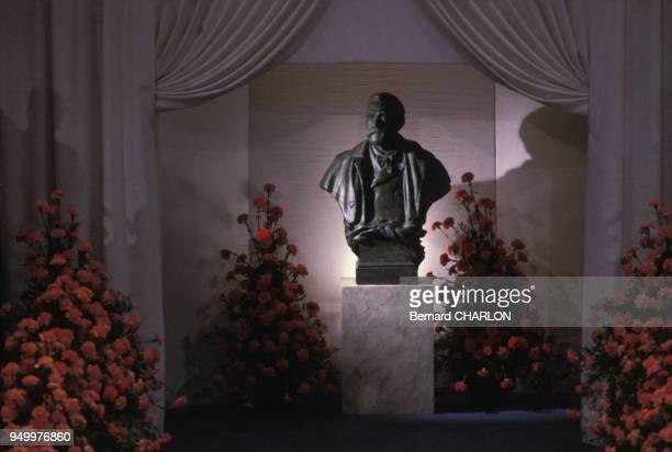 Buste d'Alfred Nobel à Stockholm Suède