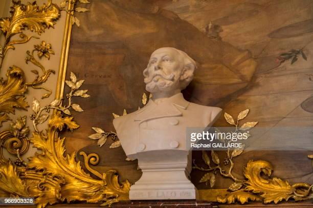 Buste d'Édouard Lalo OpéraComique le 22 octobre 2014 Paris France
