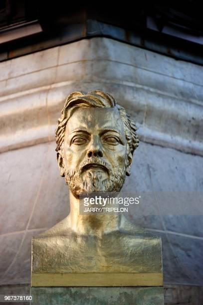 Buste de Gustave Eiffel 21 avril 2015 Paris France