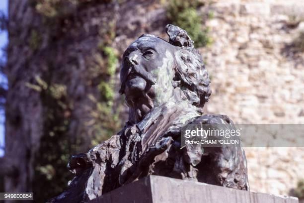 Buste de Jules Barbey d'Aurevilly à SaintSauveurleVicomte dans la Manche France