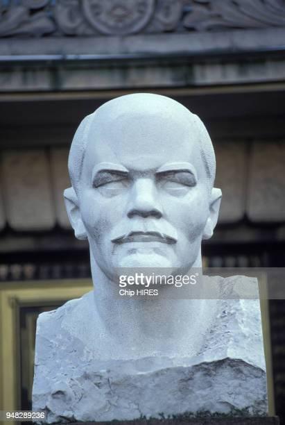 Buste de Lénine à Berlin le 12 novembre 1989 Allemagne