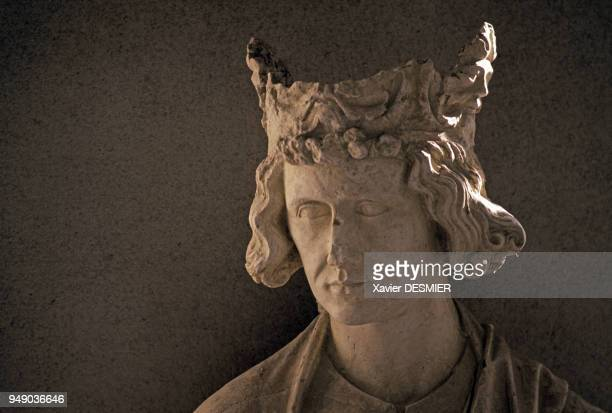 Buste de Louis IX au palais du Tau à Reims dans la Marne France