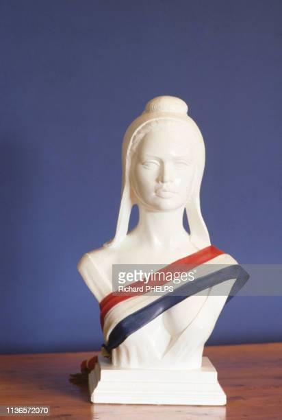 Buste de Marianne à l'effigie de Brigitte Bardot France