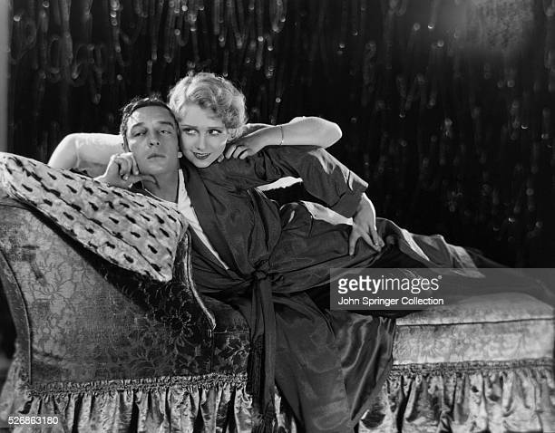 Buster Keaton and actress Anita Page around the time of their appearance in the 1930 movie Free and Easy
