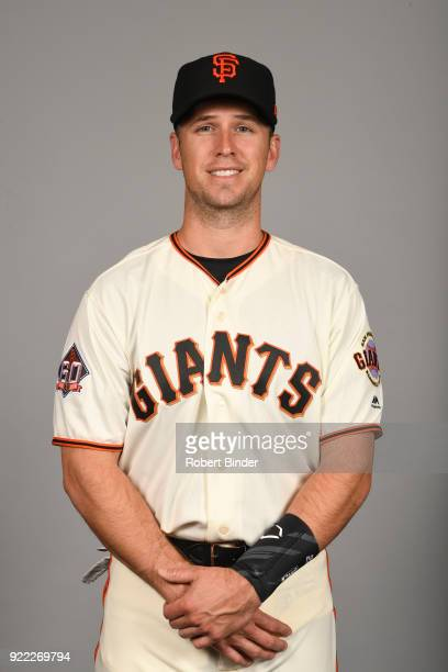 Buster Posey of the San Francisco Giants poses during Photo Day on Tuesday February 20 2018 at Scottsdale Stadium in Scottsdale Arizona