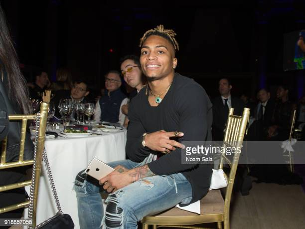 Buster Skrine attends All Hands and Hearts Smart Response Third Annual Fight For Education at Cipriani Wall Street on February 15 2018 in New York...