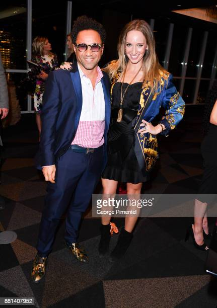 Bustle Fashion Designers Shawn Hewson and Ruth Promislow attend Christian Siriano Canadian Book Launch held at Bisha Hotel Residences on November 28...