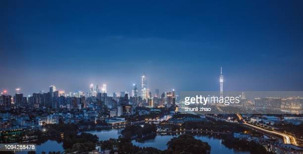 bustling city - guangzhou stock pictures, royalty-free photos & images