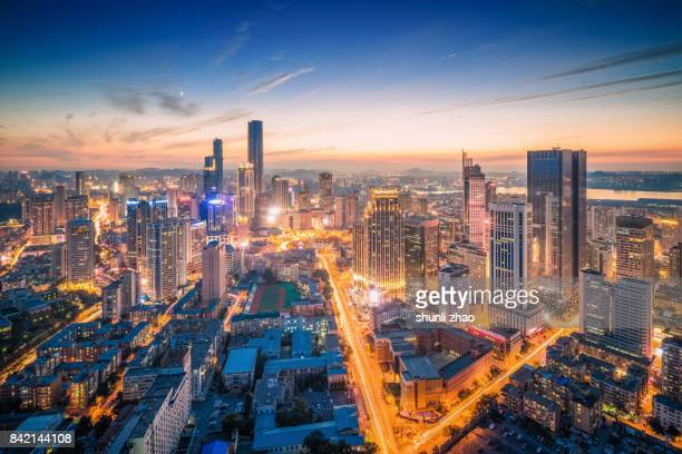 bustling dalian - liaoning province stock pictures, royalty-free photos & images