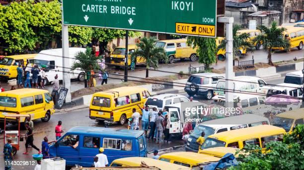 Busy African city - Lagos, Nigeria