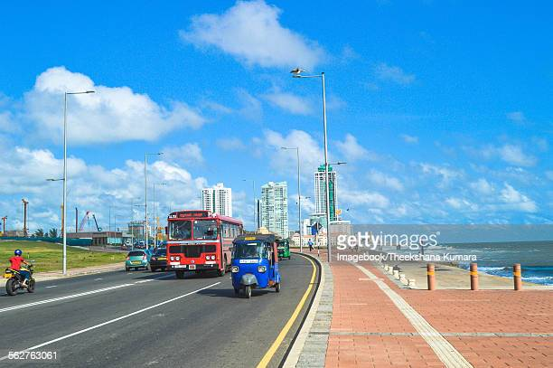 Busy Galle Roade of Colombo