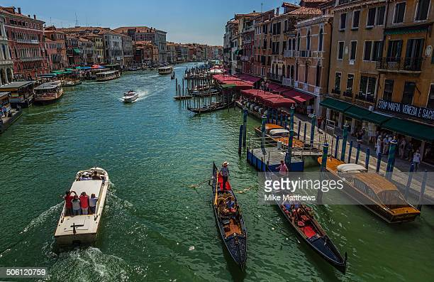 CONTENT] Busy Grand Canal Venice