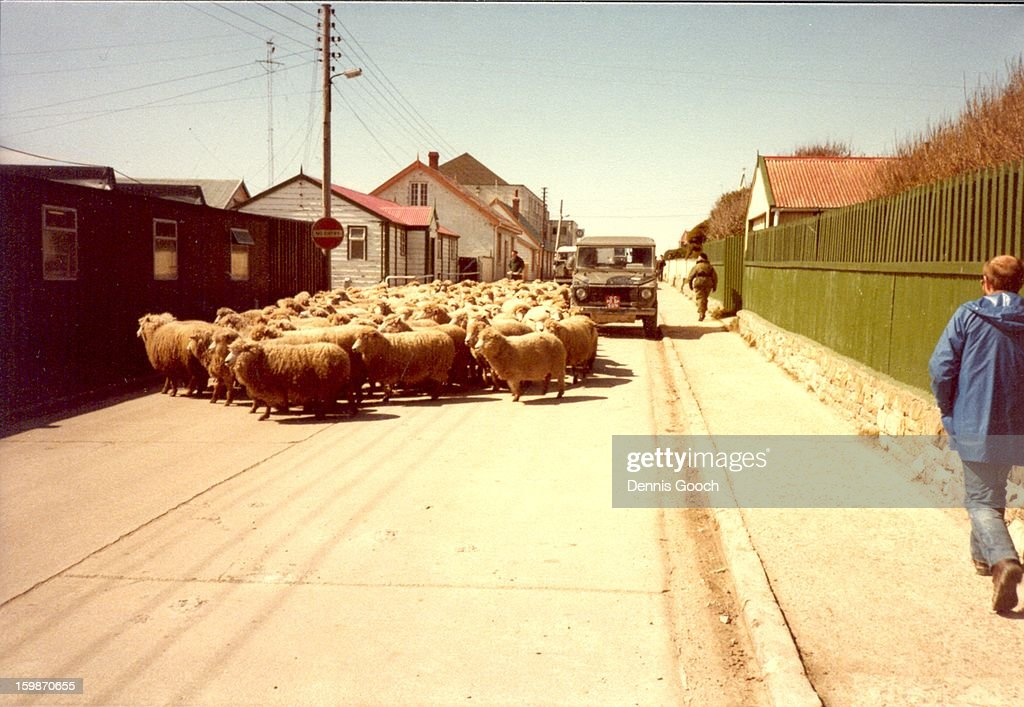 CONTENT] Busy hour along Ross Road, Stanley. November 1983