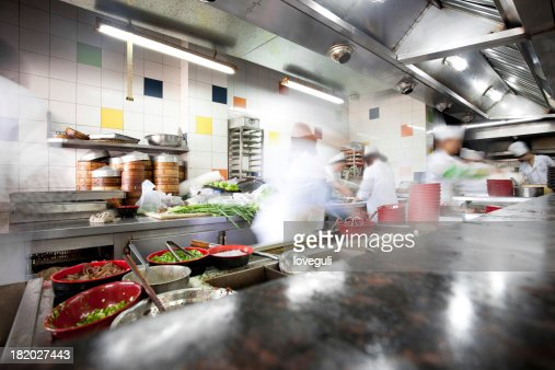 busy kitchen. Busy Kitchen