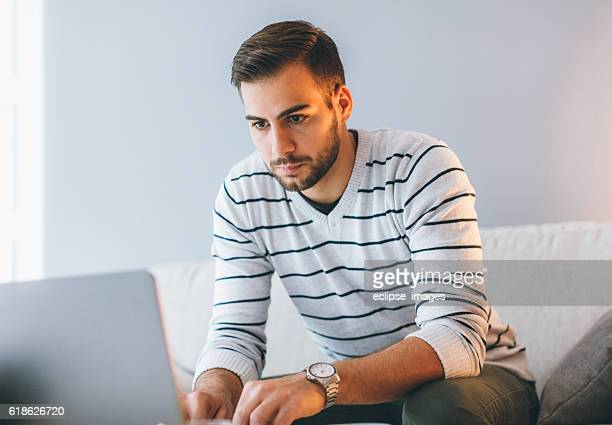 busy man working from home - bank account stock pictures, royalty-free photos & images