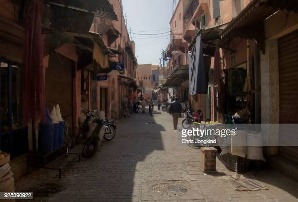 Busy Marrakesh Street