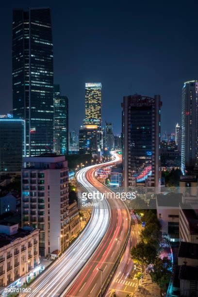 A Busy Night In Shanghai