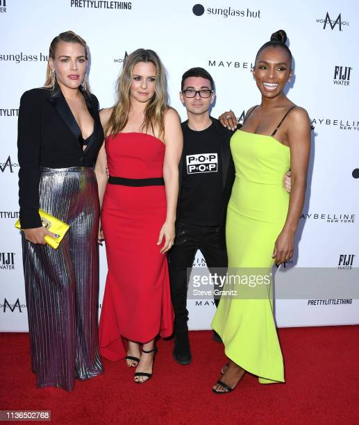 Busy Philipps Alicia Silverstone Christian Siriano and Janet Mock arrive at The Daily Front Row's 5th Annual Fashion Los Angeles Awards at Beverly...