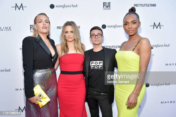 Busy Philipps Alicia Silverstone Christian Siriano and Janet Mock attend The Daily Front Row Fashion LA Awards 2019 on March 17 2019 in Los Angeles...