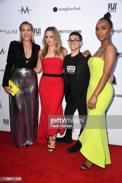 Busy Philipps Alicia Silverstone Christian Siriano and Janet Mock attend The Daily Front Row's 5th Annual Fashion Los Angeles Awards at Beverly Hills...