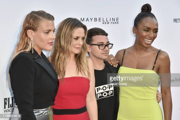 Busy Philipps Alicia Silverstone Christian Siriano and Janet Mock attend The Daily Front Row Fifth Annual Fashion Los Angeles Awards at Beverly Hills...
