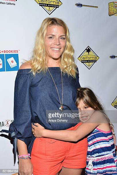 Busy Philipps and Birdie Leigh Silverstein attend the Milk Bookies' 7th Annual Story Time Celebration on April 17 2016 in Los Angeles California