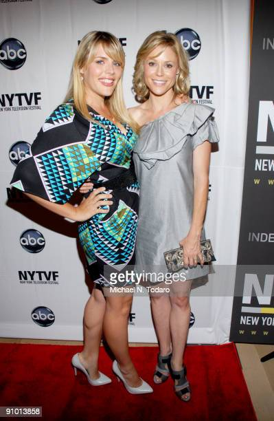 Busy Philipps and Julie Bowen attend the 2009 New York Television Festival screenings of Modern Family and Cougar Town at TheTimesCenter on September...