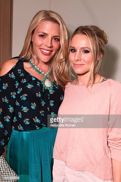 Busy Philipps and Kristen Bell at Rebecca Taylor Robertson Store Opening on December 7 2011 in Los Angeles California