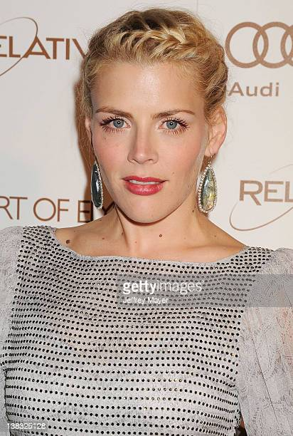Busy Philipps arrives at Art Of Elysium's 5th Annual Heaven Gala at Union Station on January 14, 2012 in Los Angeles, California.