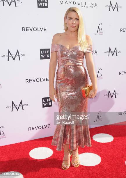 Busy Philipps arrives at the Daily Front Row's 3rd Annual Fashion Los Angeles Awards at the Sunset Tower Hotel on April 2 2017 in West Hollywood...