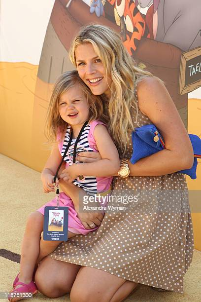 Busy Philipps arrives at The Los Angeles Premiere of 'Winnie The Pooh' held at The Walt Disney Studios on July 10 2011 in Burbank California