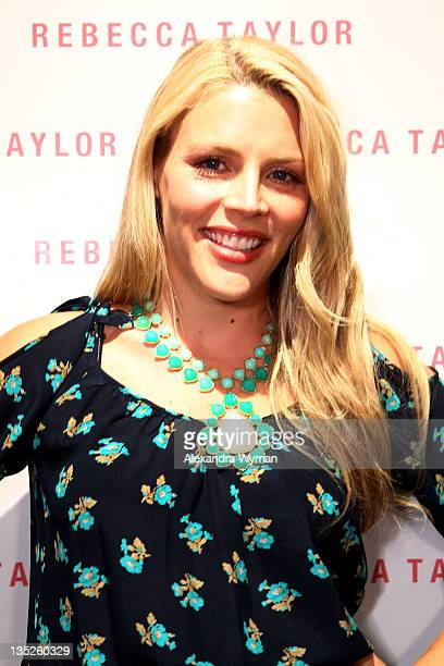Busy Philipps at Rebecca Taylor Robertson Store Opening on December 7 2011 in Los Angeles California