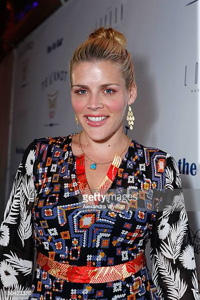 Busy Philipps at the launch of Tie The Knot a charity benefitting marriage equality through the sale of limited edition bowties available online at...
