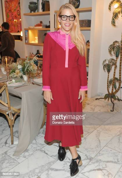 Busy Philipps attends Chairish x Athena Calderone Cook Beautiful LA Dinner at Irene Neuwirth Boutique on October 30 2017 in West Hollywood California