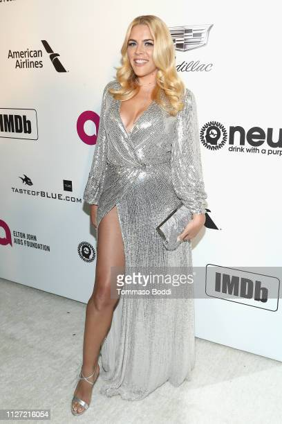 Busy Philipps attends IMDb LIVE At The Elton John AIDS Foundation Academy Awards® Viewing Party on February 24 2019 in Los Angeles California