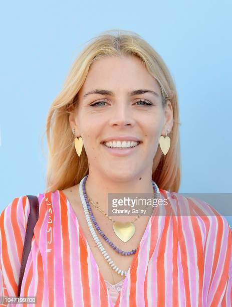Busy Philipps attends PS ARTS Express Yourself 2018 at Barker Hangar on October 7 2018 in Santa Monica California