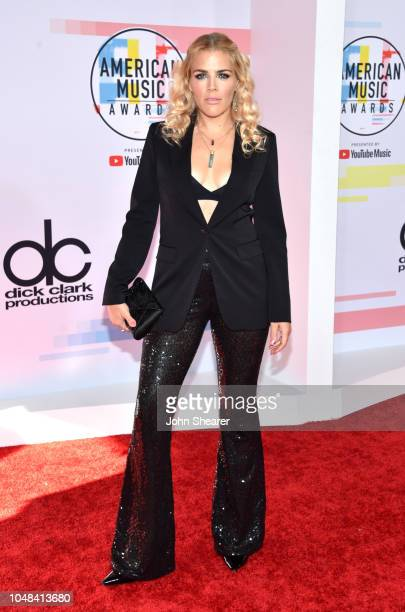 Busy Philipps attends the 2018 American Music Awards at Microsoft Theater on October 9 2018 in Los Angeles California