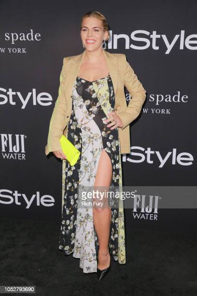 Busy Philipps attends the 2018 InStyle Awards at The Getty Center on October 22 2018 in Los Angeles California