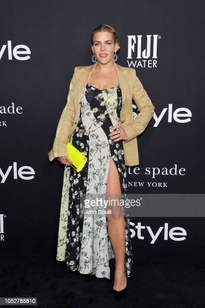 Busy Philipps attends the 2018 InStyle Awards with Fiji Water on October 22 2018 in Los Angeles California