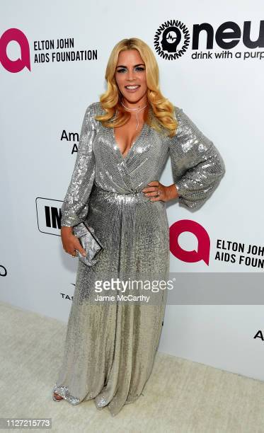 Busy Philipps attends the 27th annual Elton John AIDS Foundation Academy Awards Viewing Party sponsored by IMDb and Neuro Drinks celebrating EJAF and...