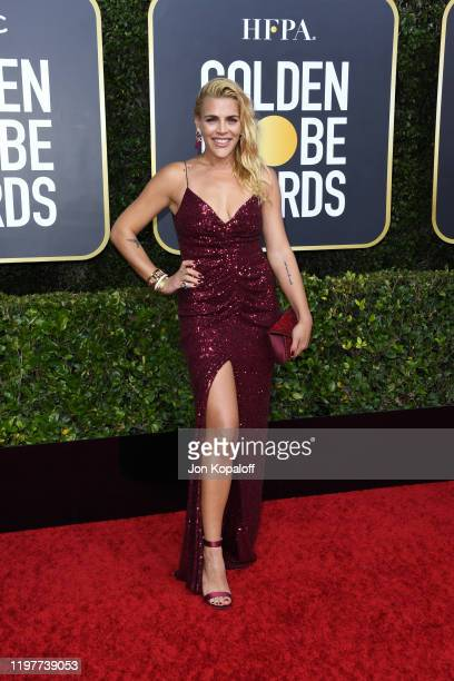 Busy Philipps attends the 77th Annual Golden Globe Awards at The Beverly Hilton Hotel on January 05, 2020 in Beverly Hills, California.