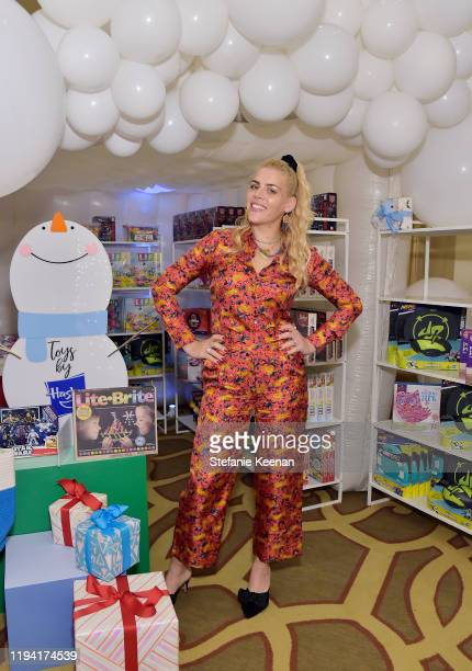 Busy Philipps attends The Baby2Baby Holiday Party Presented By FRAME And Uber at Montage Beverly Hills on December 15, 2019 in Beverly Hills,...