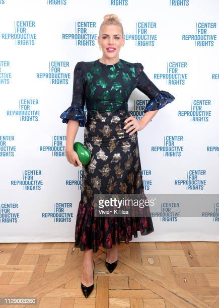Busy Philipps attends The Center for Reproductive Rights Inaugural Los Angeles Benefit at The London West Hollywood on March 6, 2019 in West...