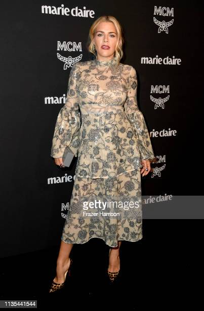Busy Philipps attends the Marie Claire Change Makers Celebration at Hills Penthouse on March 12 2019 in West Hollywood California