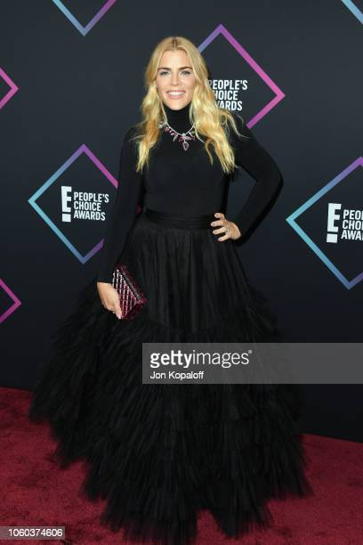 Busy Philipps attends the People's Choice Awards 2018 at Barker Hangar on November 11 2018 in Santa Monica California