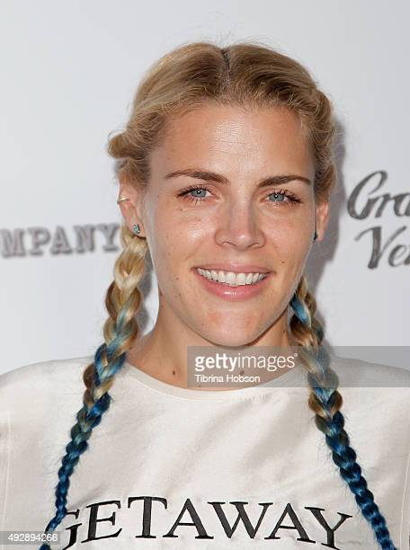 Busy Philipps attends the premiere of 'All Things Must Pass' at Harmony Gold Theatre on October 15 2015 in Los Angeles California