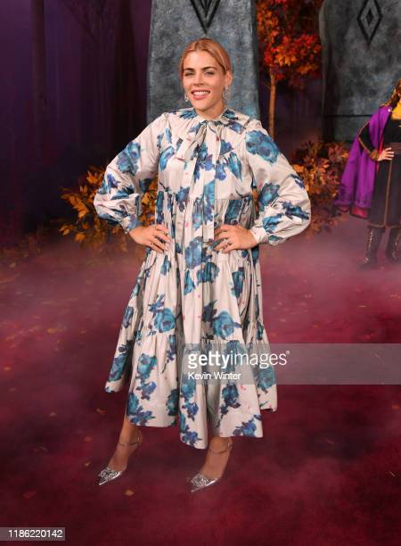 Busy Philipps attends the premiere of Disney's Frozen 2 at Dolby Theatre on November 07 2019 in Hollywood California