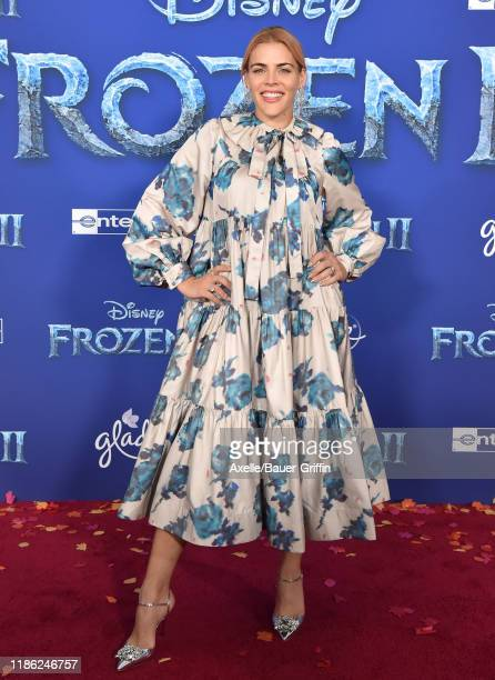 "Busy Philipps attends the Premiere of Disney's ""Frozen 2"" at Dolby Theatre on November 07, 2019 in Hollywood, California."