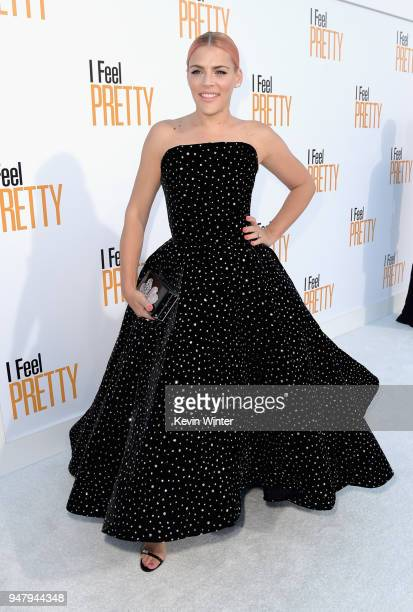 Busy Philipps attends the premiere of STX Films' 'I Feel Pretty' at Westwood Village Theatre on April 17 2018 in Westwood California