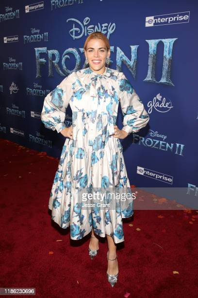 Busy Philipps attends the world premiere of Disney's Frozen 2 at Hollywood's Dolby Theatre on Thursday November 7 2019 in Hollywood California